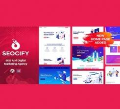 Seocify – SEO ve Dijital Pazarlama Ajansı WordPress teması